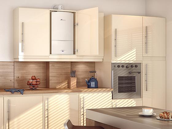 Regular boiler installation swindon pure boilers - Comment cacher une chaudiere dans une cuisine ...